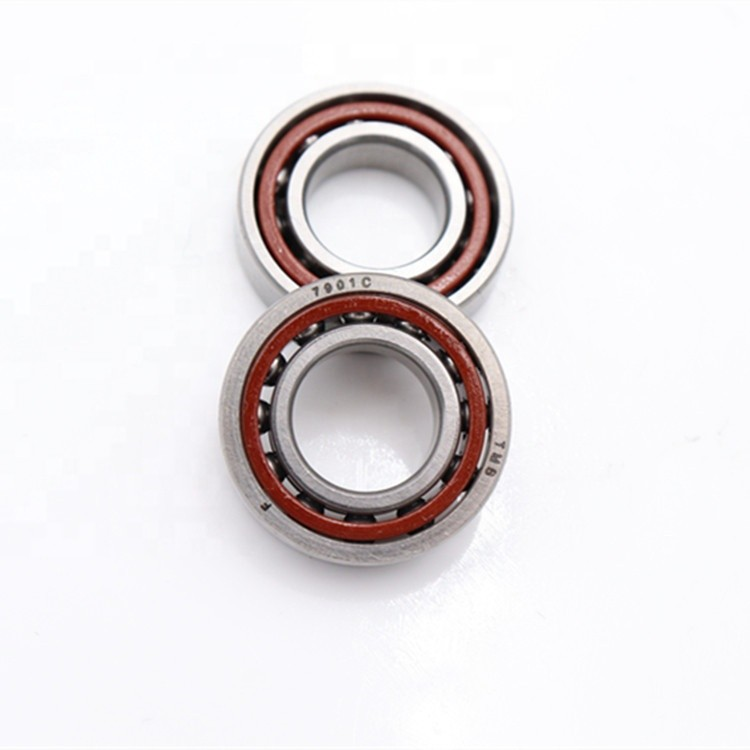 0.472 Inch | 12 Millimeter x 1.102 Inch | 28 Millimeter x 0.315 Inch | 8 Millimeter  SKF 7001 CD/VQ253  Angular Contact Ball Bearings